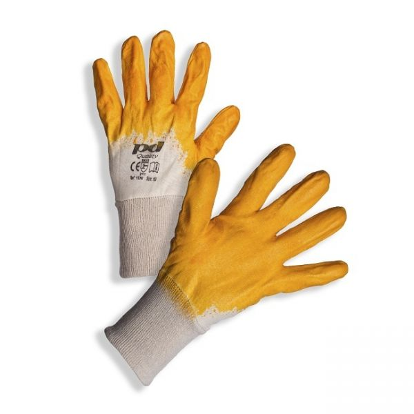 Promo: PD-YENI Nitrile Gloves - Yellow, EN388