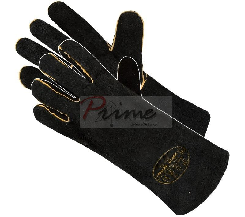 Reflex Black Welding Gloves