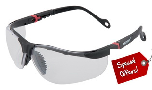 Promo: Safety Glasses ASL-08-HC, Clear