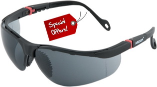 Promo: Safety Glasses ASL-08-HC, Smoke