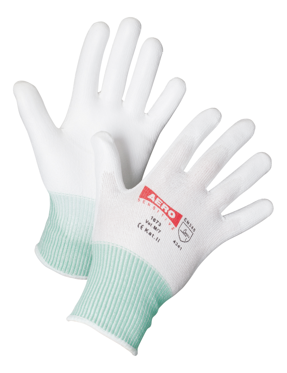 AERO Gloves PurtSkin Cut3 1673, with Polyurethane Coating