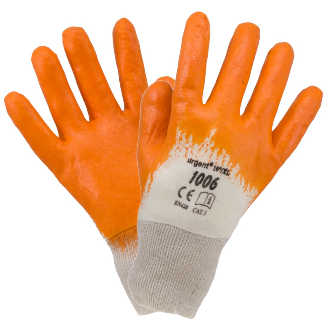 BASIC 1006 Nitrile Dipped Safety Gloves