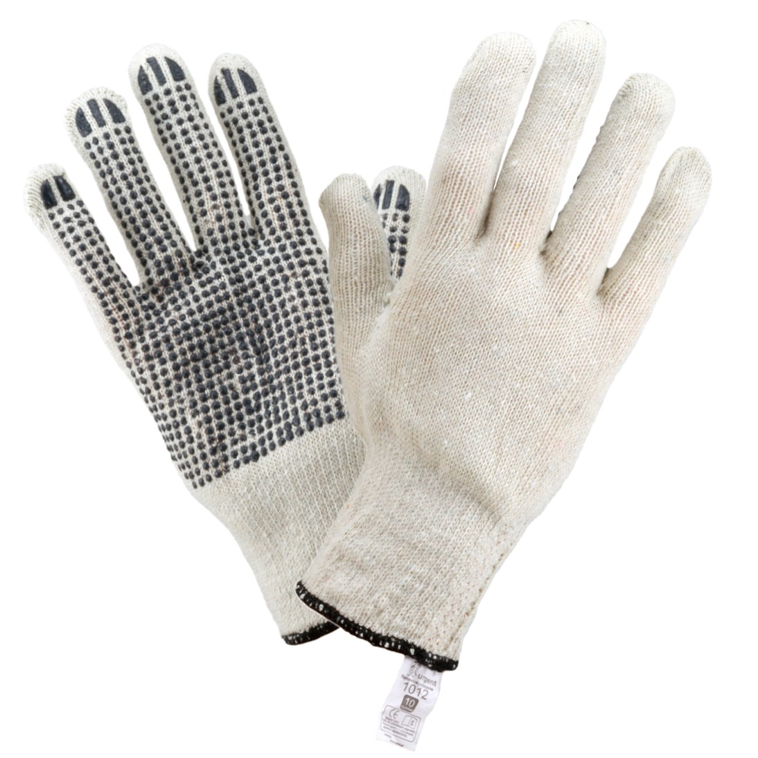 BASIC 1012 Knitted Gloves, with PVC dots