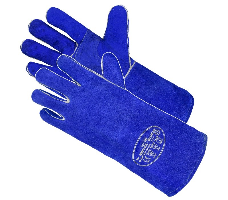 Reflex Blue Strong Welding Gloves