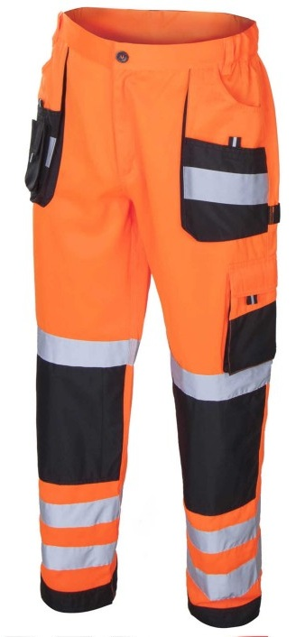 FLASH Orange - Pantaloni de protectie reflectorizanti