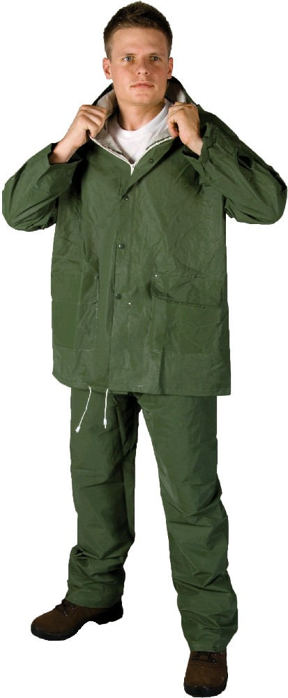 Hugo Green PVC Rain Suits H9200