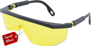 Promo: Safety Glasses ASL-01-HC, Amber