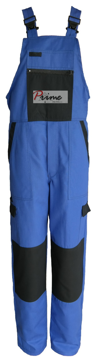 Prime DEX 301-006 Blue-Black Bib Pants