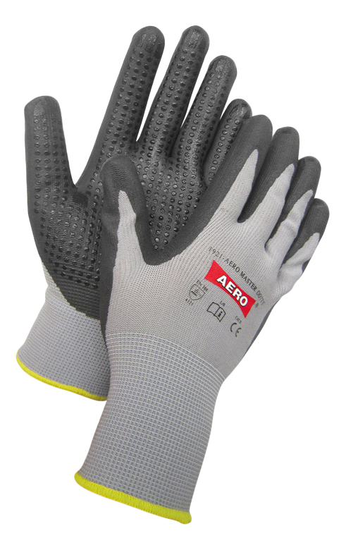 AERO Gloves NitroFoam Dot Optimal 1921, with PVC dots
