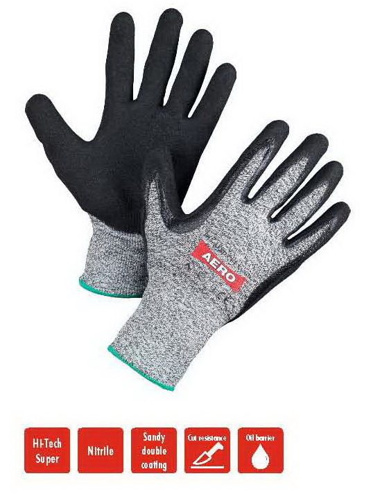 AERO Gloves NitroSand Cut 5 1912