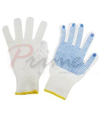 Sale: Prime Rnydo Gloves, Blue PVC Dots