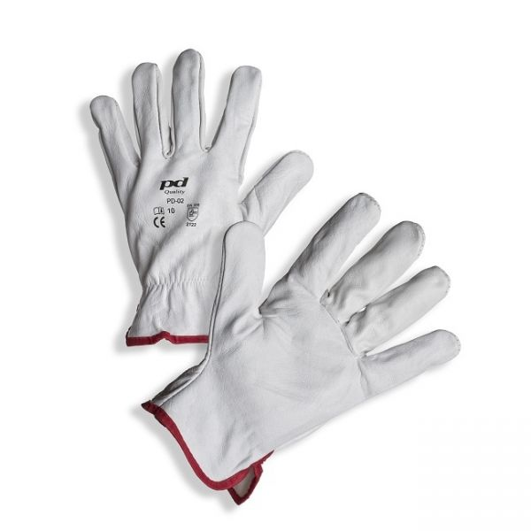 PD-02 Gloves, full grain cow leather