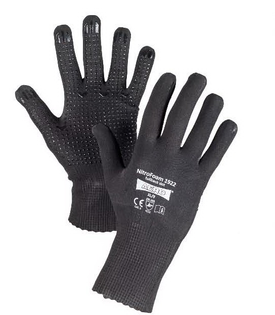 AERO Gloves NitroFoam Fullback Dot 1922, with PVC dots