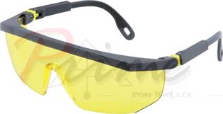 Safety Glasses ASL-01-HC, Amber