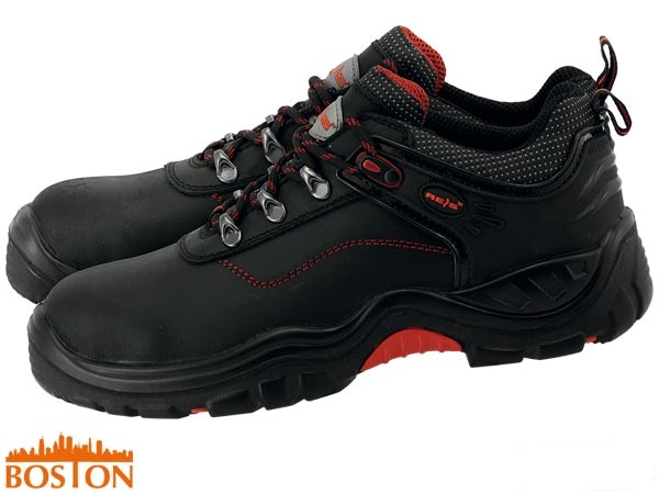 Boston-P S1P-SRC Buffalo Leather Safety Shoes