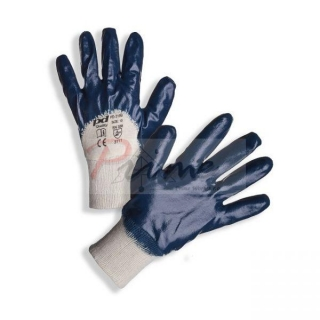 PD-319B Nitrile Dipped Safety Gloves